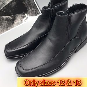 Other - Men's warm faux fur winter Boot only sizes 12 & 13